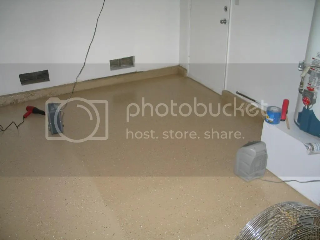 Quikrete Garage Epoxy Floor Question Issues The H A M B