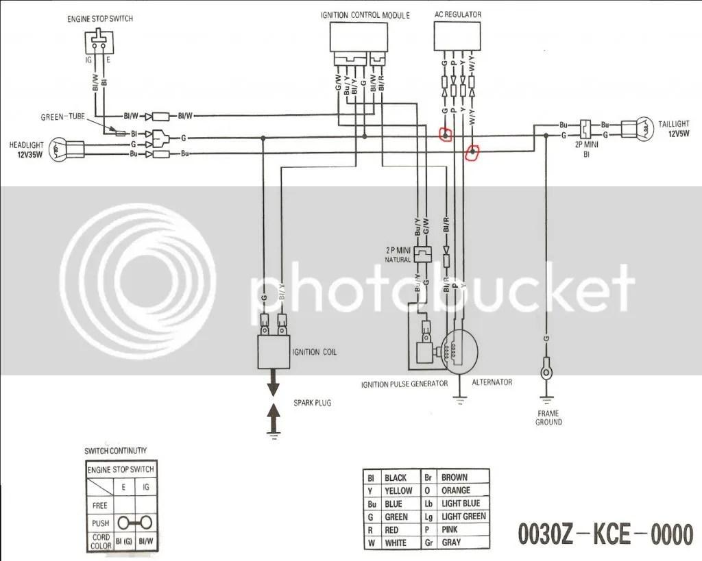 Honda Cb125 Wiring Diagram