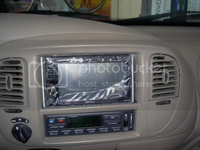 01 Expedition Kenwood DDX512 Double Din Install - Ford Truck