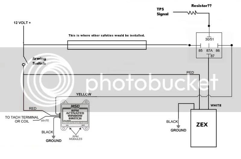 ZEX #82023 Wet System + MSD #8969 Window Switch \u003d Questions