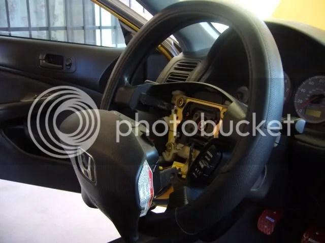 How to EP3 steering wheel into EM2 - Honda-Tech - Honda Forum