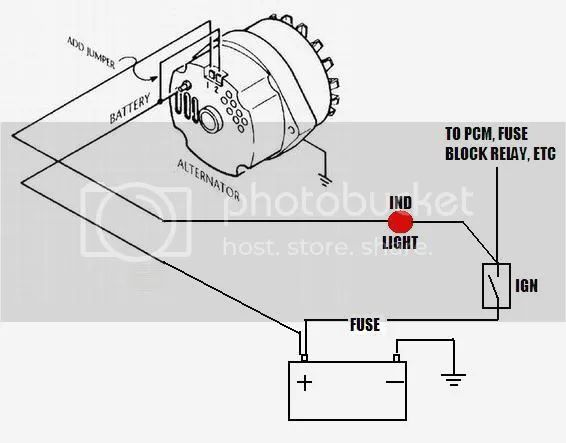 alternator wire diagram to battery pdf