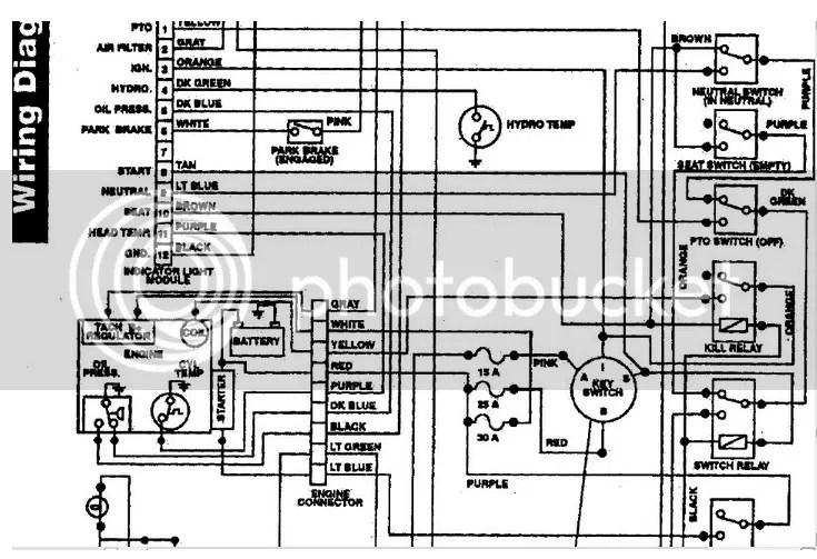 Wheel Horse 520h Wiring Diagram Online Wiring Diagram