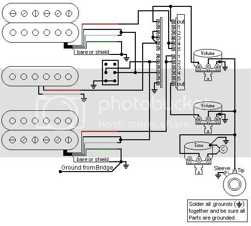 Fender Hsh Guitar Wiring Wiring Diagram