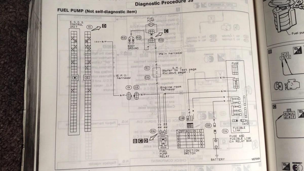240sx Fuel Pump Wiring Diagram Wiring Schematic Diagram