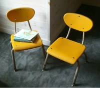E+O supply: INTERIOR DESIGN: Vintage School Chairs