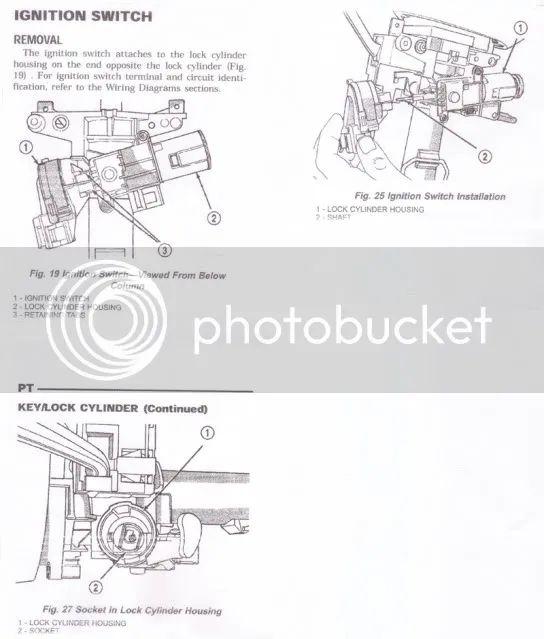 pt cruiser ignition diagram