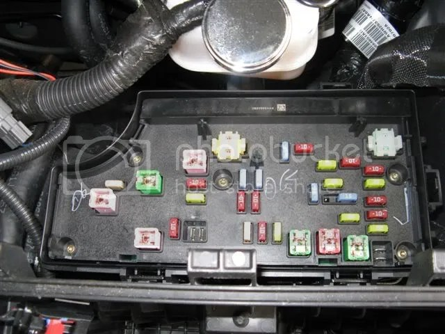 07 Pt Cruiser Fuse Box - Wiring Data Diagram