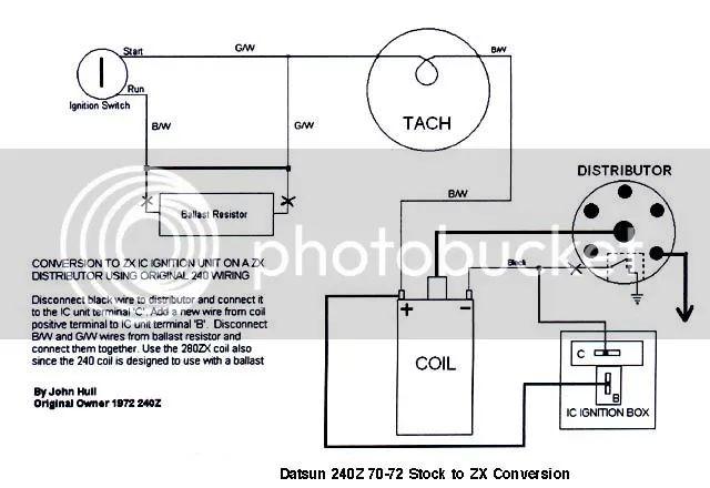 280z tach wiring 67