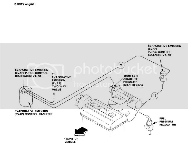 Need a Vacuum Map for OBD I B16a in a EG - Honda-Tech - Honda Forum