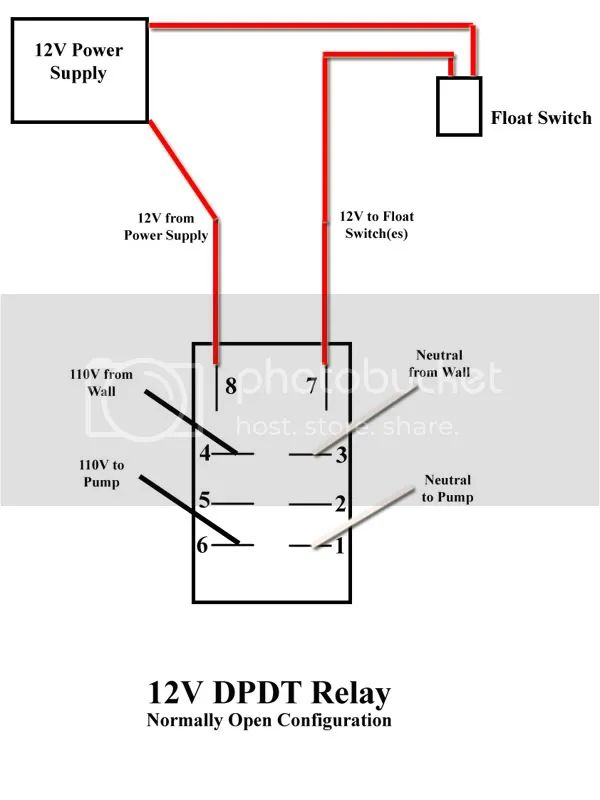relay switch dc