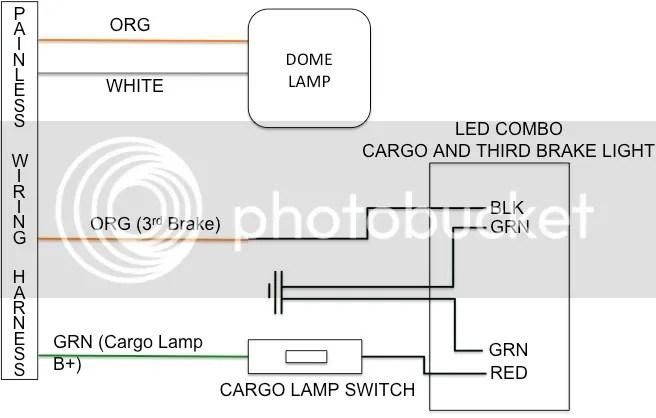 Gmc Third Brake Light Wiring Wiring Diagram