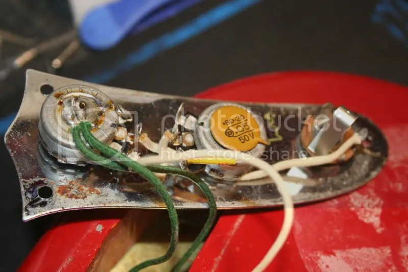Anyone have a wiring diagram for a 1967 Fender Mustang? Harmony