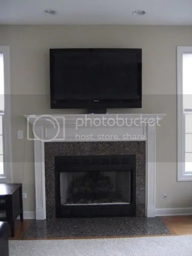 Flat Tv Over The Fireplace Ok Or Tackay Curltalk
