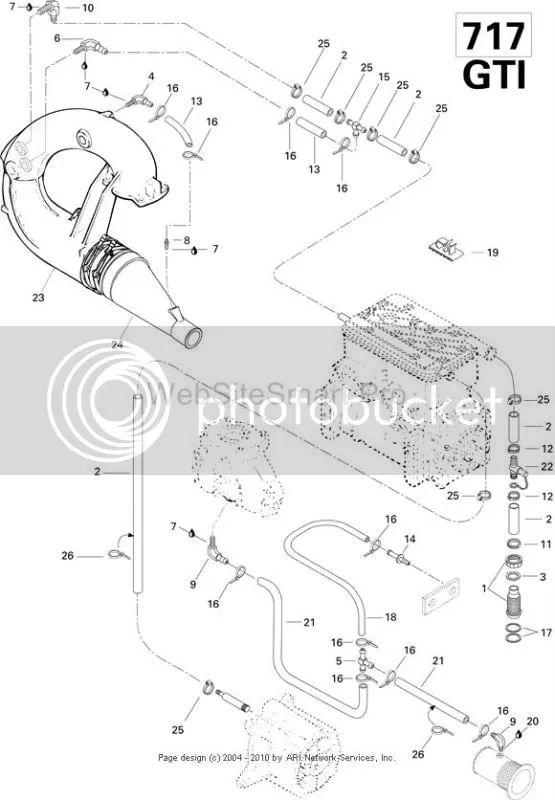 seadoo bombardier engine diagram