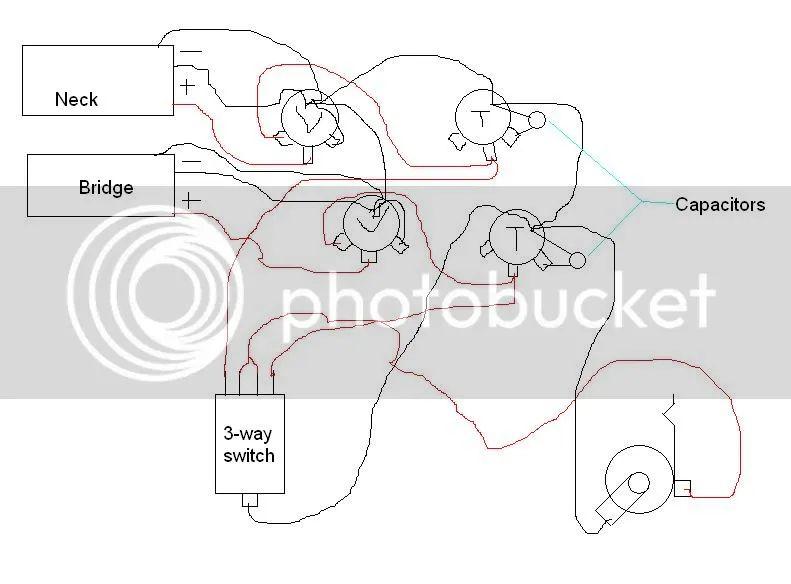 wiring diagram for a guitar barrel jack