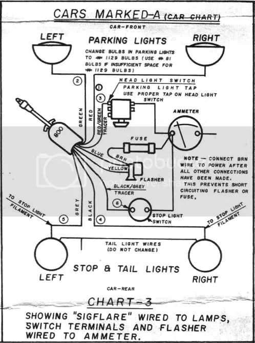 Street Rod Turn Signal Wiring Diagram Wiring Schematic Diagram