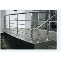 Curved Rod Stainless Steel Railing Top Mount Stainless