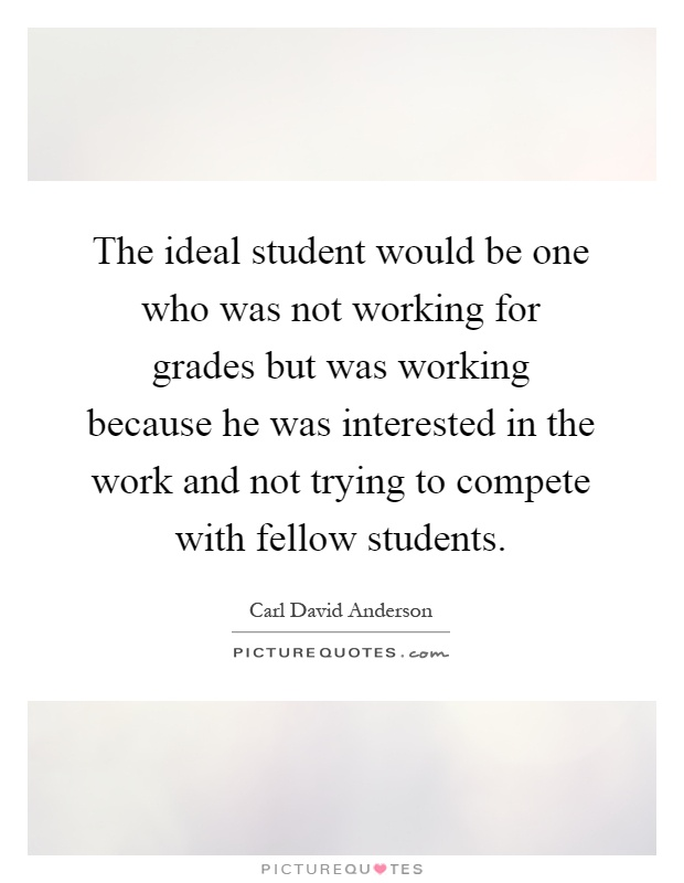 Short essay on An Ideal Student