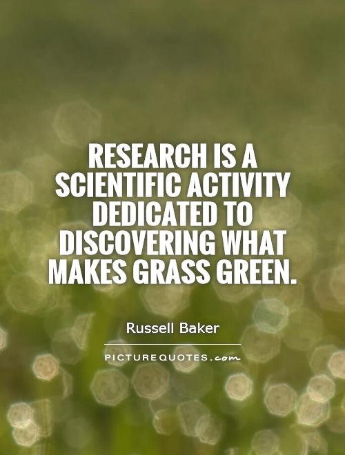 Research Is A Scientific Activity Dedicated To Discovering What