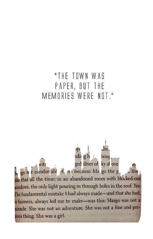 Tfios Wallpaper Quotes Funny Quotes Paper Towns Quotesgram