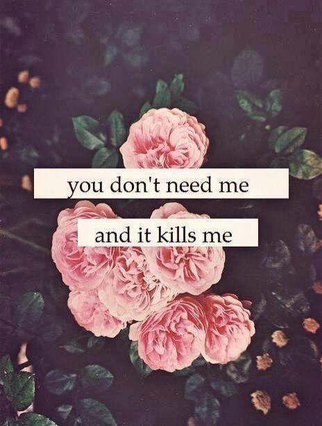 Cute Couple Holding Hands Wallpapers You Don T Need Me And It Kills Me Picture Quotes