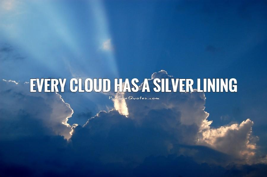 Life Is Like A Piano Quote Wallpaper Every Cloud Has A Silver Lining Picture Quote 1