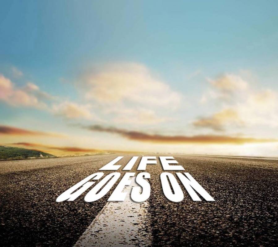 Cute Quote Wallpaper Backgrounds Life Goes On Quotes Amp Sayings Life Goes On Picture Quotes