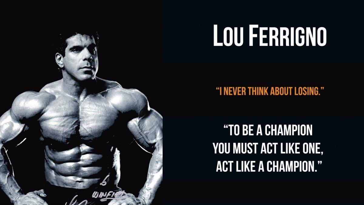 Arnold Schwarzenegger Quotes Wallpaper I Never Think About Losing To Be A Champion You Must Act