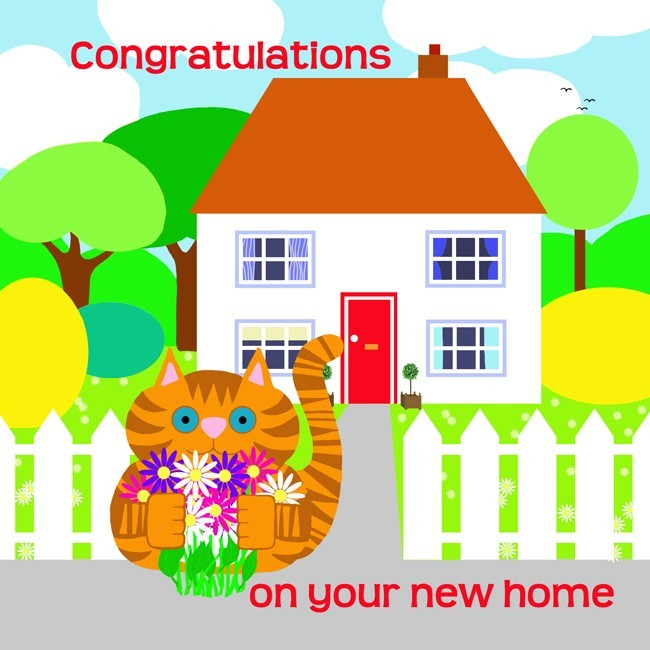 congratulations on your new house your neighbors will be so happy