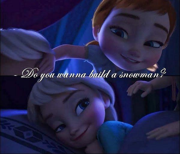 Never Trust On Girl Wallpaper Do You Wanna Build A Snowman Picture Quotes