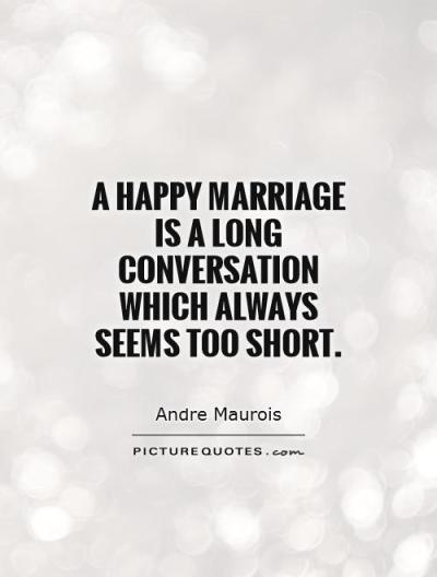 Quotes And Sayings Happy Marriage. QuotesGram