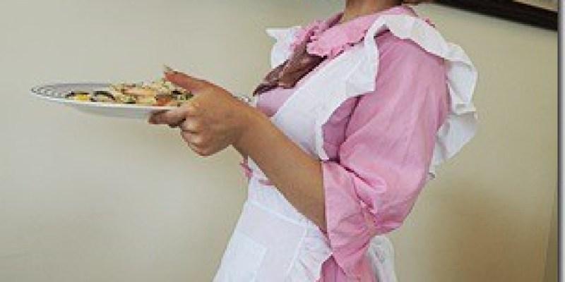彰化‧田中。主題餐廳|【嘚嘚茶語共和】有甜美正妹穿可愛粉紅色女僕裝服務的店