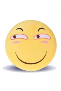 Emoji Smirk Face Warm Hands Soft Office Throw Pillow 12 ...