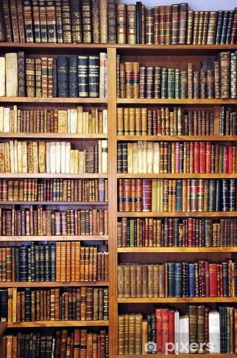 3d Bookshelf Wallpaper Papier Peint Vieux Livres De Biblioth 232 Que Pixers 174 Nous