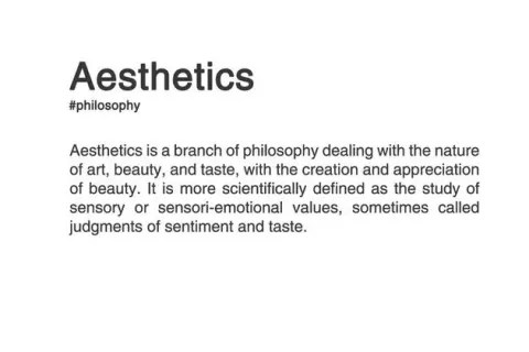 Find Your Aesthetic