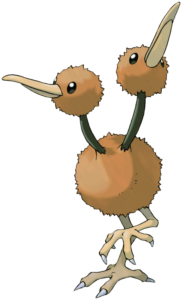 Doduo Pokédex stats, moves, evolution  locations Pokémon Database