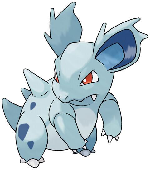 Nidorina Pokédex stats, moves, evolution  locations Pokémon Database