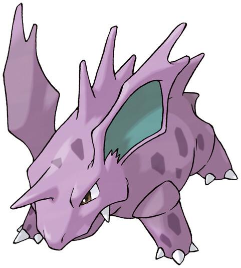 Nidorino Pokédex stats, moves, evolution  locations Pokémon Database