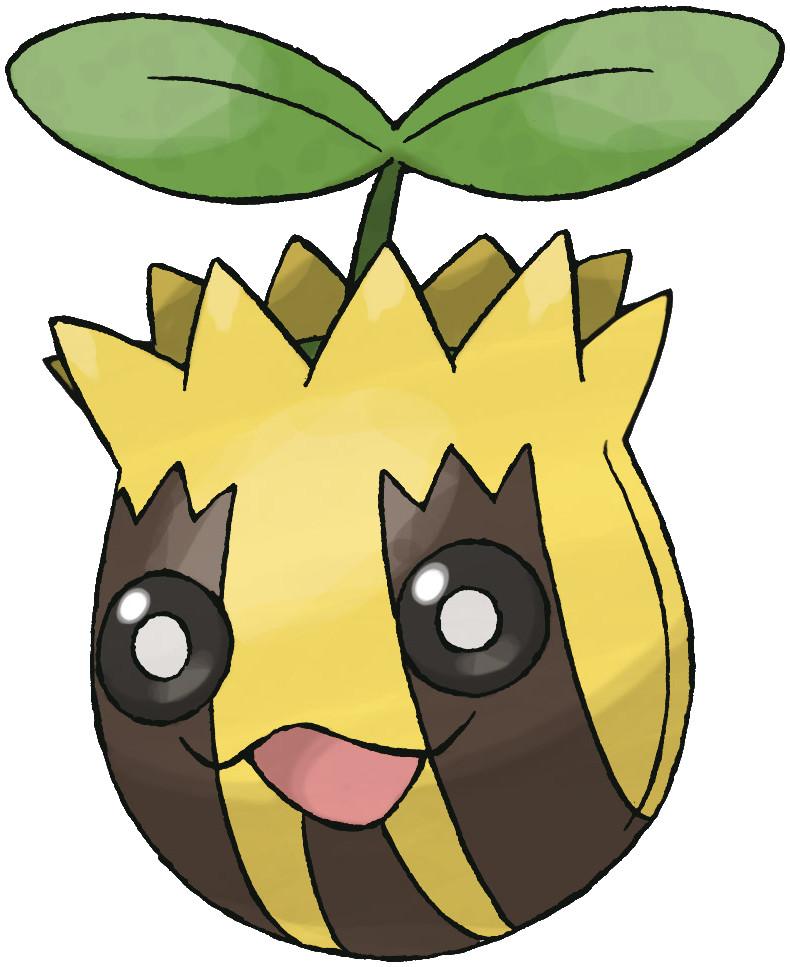 Sunkern Pokédex stats, moves, evolution  locations Pokémon Database