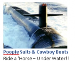 Ride A Quothorsequot Under Water 3rd Edition Of Quotpoopie Suits