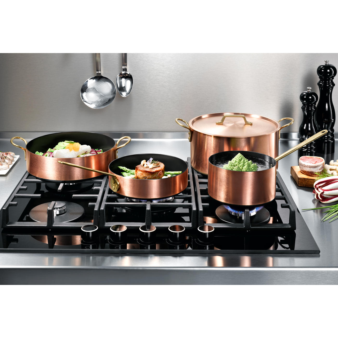 Cuisine Induction Induction Copper Cookware 3 Year Product Guarantee