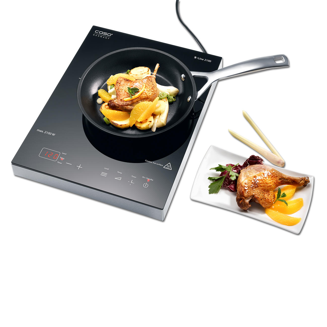 Cuisine Induction Caso Induction Hob S Line 3 Year Product Guarantee