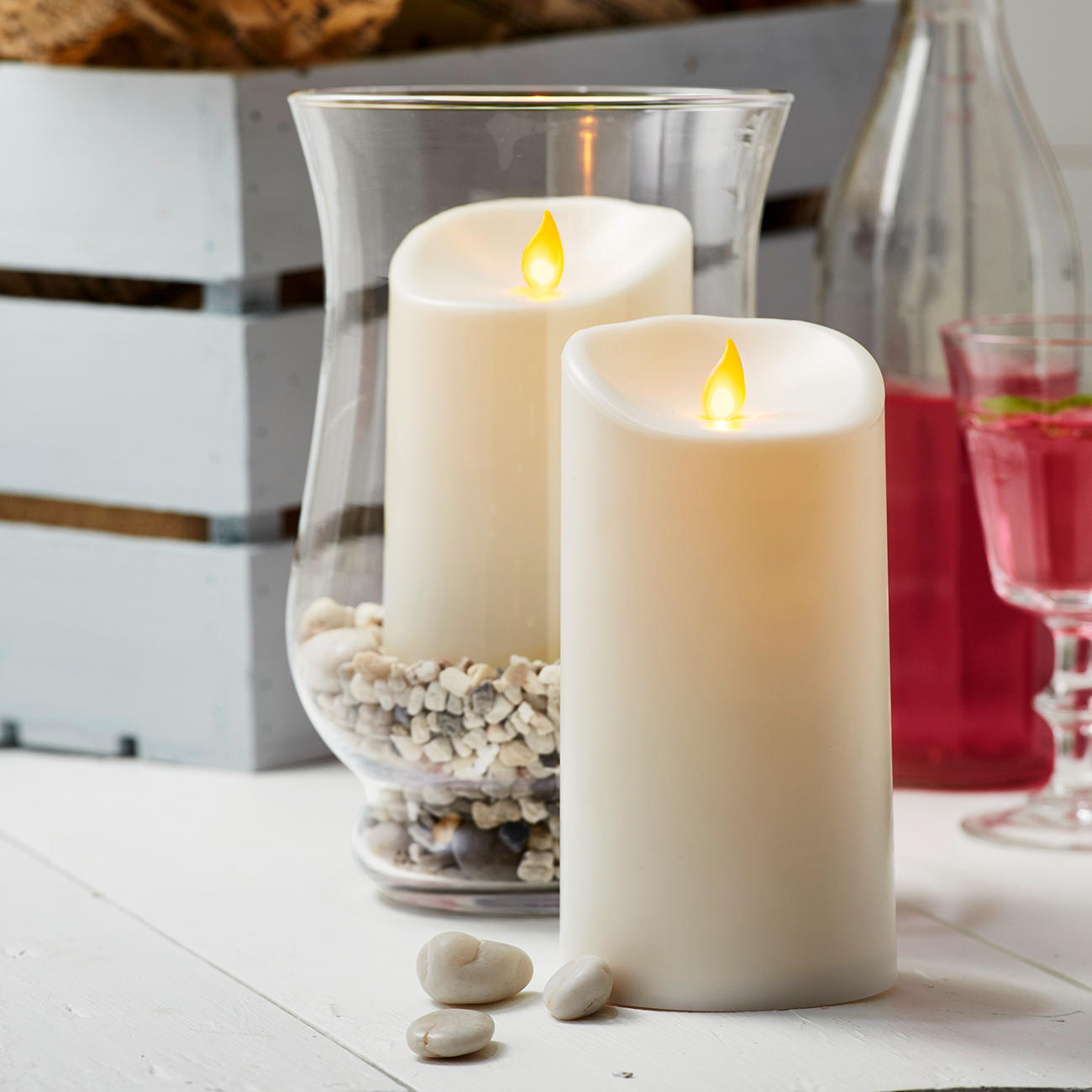 Buy Candles Online Buy Twinkle Led Outdoor Candles Online