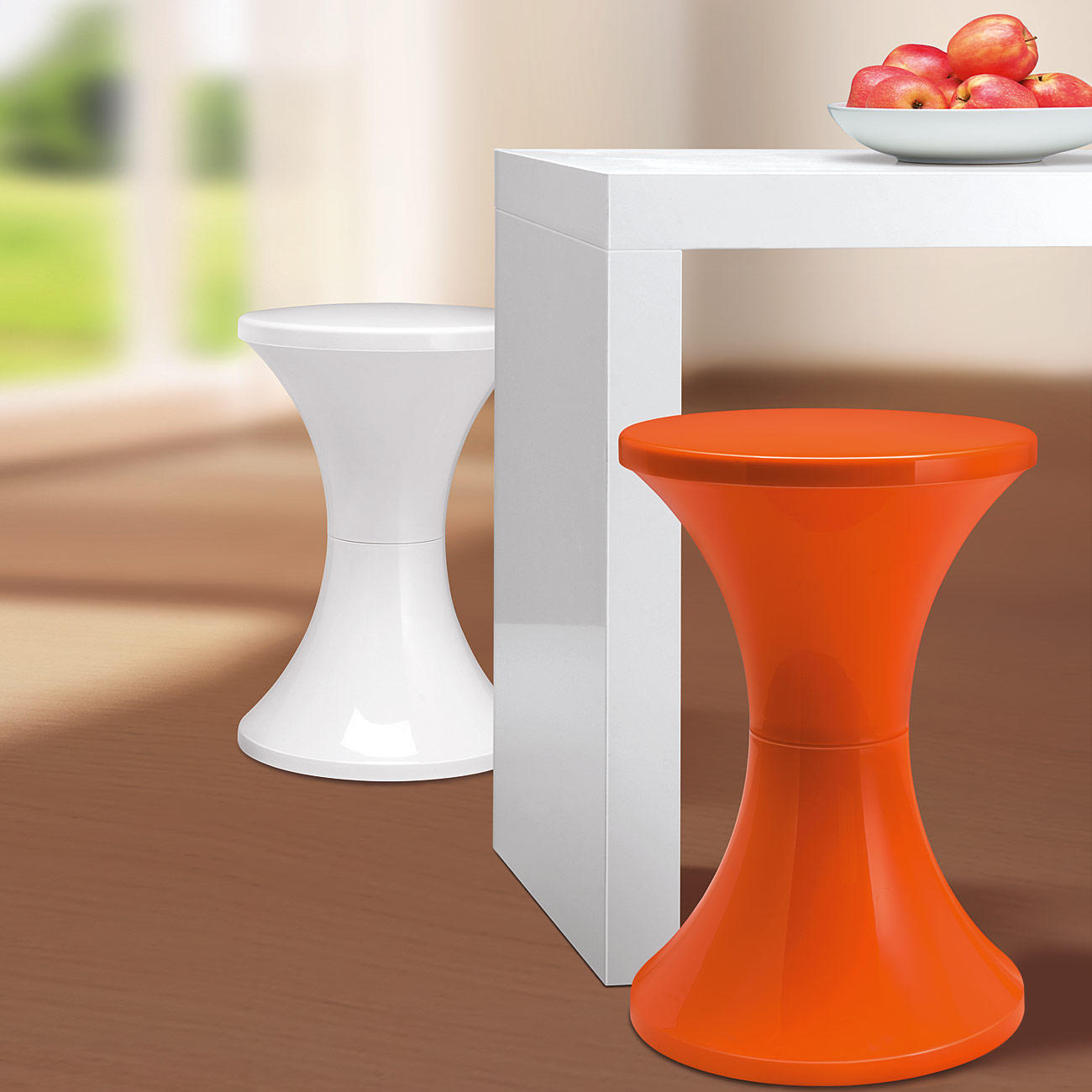 Tam Tam Pop Hocker Stamp Edition Orange Online Kaufen