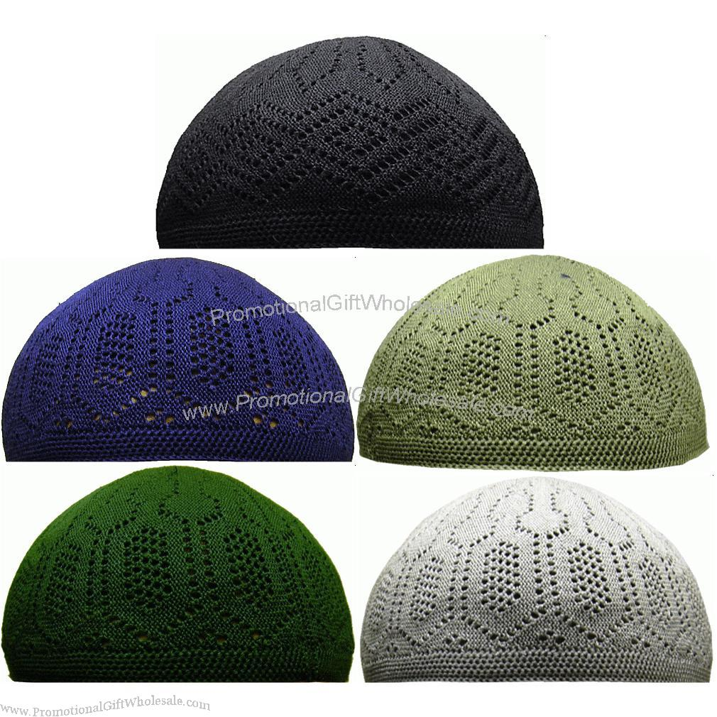 China Pen Suppliers Knitted Kufi Skull Cap Muslim Caps Cheap Price 537957394