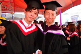 畢業快樂!從世新山洞口走出