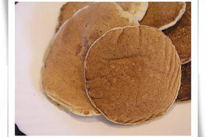 上班的早晨,自己作幸福鬆餅(pancake)食譜筆記