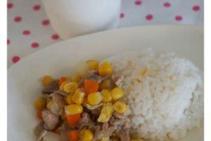 【小風副食品】玉米馬鈴薯燉肉燴飯&芭樂汁