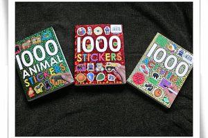 好玩‧耐操‧有擋頭的1000 STICKERS貼紙書系列